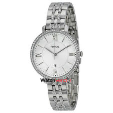 Fossil Jacqueline Silver Dial Stainless Steel Ladies Watch ES3545