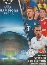 STICKERS IMAGE TOPPS - FOOT CHAMPIONS LEAGUE 2016 / 2017 - NAP A WCL - a choisir