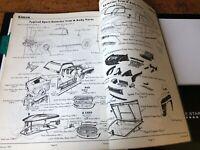 Vintage SIMCA Damage Repair Manual Minx Super Minx Book Parts 1000 Aronde