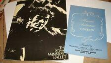 The Royal Winnipeg Ballet Program and Playbill 1970 Rare