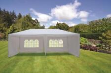 3m x 6m White Waterproof Outdoor Garden Park Gazebo Party Wedding Tent Marquee