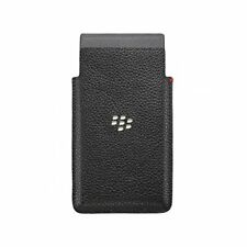 BlackBerry Leather Case for Leap - Black