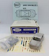 29474 GELT MINI RACING / KIT METAL / SIMCA RALLYE 3 S.R.T 1/43
