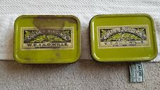 2 x Vintage WD & HO Wills Golden Virginia Tobacco Tin 2oz