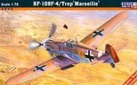 MESSERSCHMITT Bf-109 F-4 TROP 'MARSEILLE' 1/72 MISTERCRAFT LIMITED EDITION