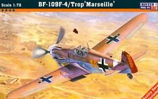 MESSERSCHMITT Bf-109 F-4 TROP 'MARSEILLE' #C40 1/72 MISTERCRAFT LIMITED EDITION