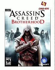 Assassin's Creed Brotherhood Uplay Pc Key Game Download Code Global Blitzversand