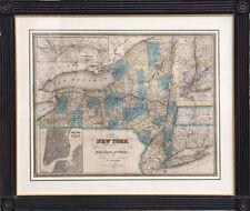 1840 J. Calvin Smith Map of New York