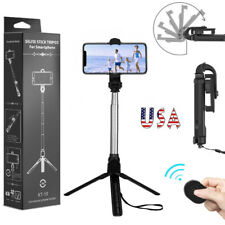 360° Extendable Selfie Stick Tripod for Cell Phone + Remote Controller Usa