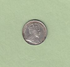 1902 Canadian 5 Cents Silver Coin - AU-50 (Scratches)