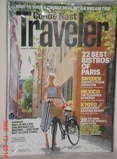 CONDE NAST TRAVELER JULY 2012 PARIS SWEDEN MEXICO KYOTO AIRLINE BAGS 20 TOP BARS