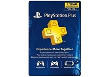 PS Plus 12-month Live Card (New) (PlayStation 4) (ps4sce304199)
