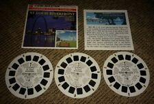 vintage ST. LOUIS RIVERFRONT Missouri VIEW-MASTER REELS with booklet a-456 old!
