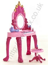 Large Girls Princess Gift Game Dressing Table Piano Glamour Mirror Play Set