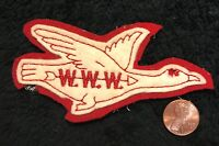 OA OCTORARO LODGE 22 FLAP CHESTER COUNTY COUNCIL PA RED & WHITE GOOSE FELT PATCH
