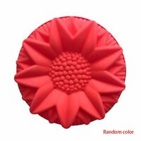 Flower Shape Bundt Cake Pan Bread Chocolate Bakeware Silicone Mold DIY