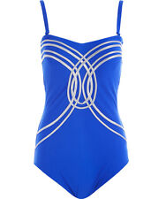 GOTTEX Hourglass Cobalt Swimsuit Size UK 14 BNWT