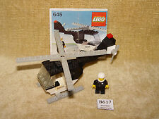 LEGO Sets: Classic Town: Police: 645-1 Police Helicopter (1979) 100% w/INSTR