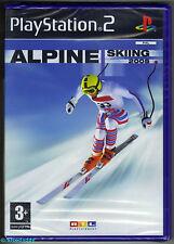 PS2 alpine sci di fondo 2005, UK PAL , NUOVO & SONY SIGILLATO in fabbrica