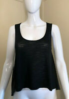 BCBG MAXAZRIA Black Sleeveless Top Size XXS