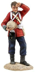BRITAINS ANGLO ZULU WAR 20166 BRITISH 24TH FOOT STANDING WIPING BROW MIB