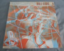 NILE RODGERS -B-MOVIE MATINEE- 1985 MEXICAN LP STILL SEALED 3-D COVER SYNTH POP