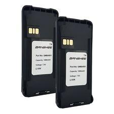2x - Replacement Motorola CP185 Battery(s) - Li-Ion 1800mah PMNN4081AR Battery