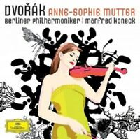 ANNE-SOPHIE/HONECK,MANFRED/BP MUTTER - DVORAK  CD NEU DVORAK,ANTONIN
