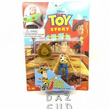 1996 Toy Story Woody Quick Draw Action Figure VTG Disney ThinkWay New Sealed