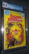 Legion of Super-Heroes Annual #1 (1982)  CGC 9.2 White Pages - New Invisible Kid