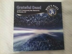 VINYL 6 LP - Dick's Picks, Vol. 34: 11/5/77, Rochester NY - Grateful Dead