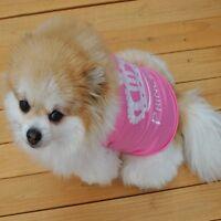 Clothes Pet Dog Cat Summer Coat Outfit Vest Costumes Princess T-shirt
