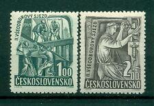 EVENEMENTS - EVENTS CZECHOSLOVAKIA 1949 Trade Unions 2nd Congress
