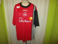 "1.FC Nürnberg Original Adidas Heim Trikot 1997/98 ""VIAG Interkom"" Gr.XXL TOP"