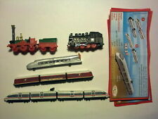 TRAINS COMPLETE SET OF 5 WITH ALL PAPERS KINDER SURPRISE 2012/2013 FERRERO