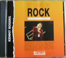 KENNY ROGERS (CD) A STRANGER IN MY PLACE  GENIES DU ROCK EDITIONS ATLAS