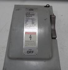 I-T-E  30A 600VAC TYPE 1 ENCLOSED SWITCH F351