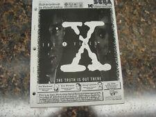 X-Files Pinball Machine Service Manual, Atlanta (727)