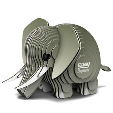 EUGY - 3d Biodegradable Cardboard Model Build Your Own Pet Elephant Age 6