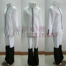 Katekyo Hitman Reborn Byakuran Gesso White Top Set Cosplay Costume J001
