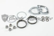 Harley Davidson Dyna Exhaust Flange Install Kit For 1984-2014 Gaskets Header