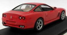 Véhicules miniatures rouges en acier embouti pour Ferrari