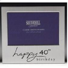 Happy 40th Birthday Photo Frame Forty Gift Shudehill 72240