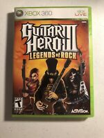 Guitar Hero III 3 Legends Of Rock (Xbox 360 Video Game) Complete CIB Tested