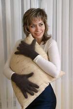 gants femmes en duvet de chevre GRIS