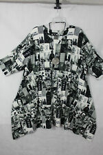 Naveed Frühjahr 2021 Tunika Kleid Longshirt Shirt A Linie, Gr.2 (54/56)