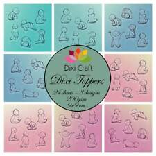 New Dixi Craft Topper Pack Babies 24