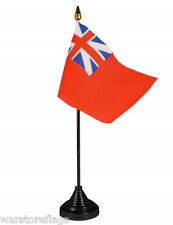 BRITISH NAVY COLONIAL RED ENSIGN TABLE FLAG DESKTOP