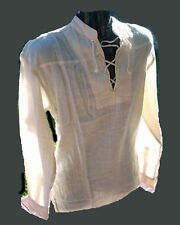 BNWT Pirate shirt,Natural color,L/s.Size   4XL