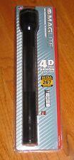 MAGLITE 4-D Cell Flashlight, Black XENON Mag Lite Maglight Mag-lite 4 D Cell